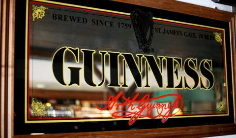 Guinness Mirror