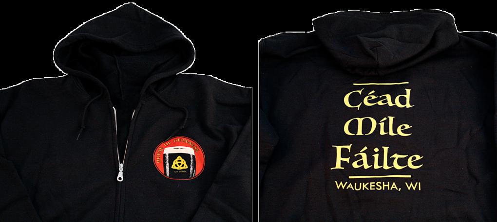House of Guinness Hooded Sweatshirt
